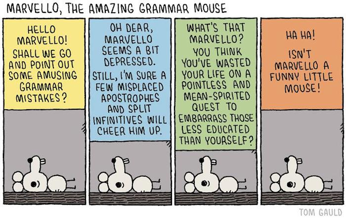 Marvello The Amazing Grammar Mouse